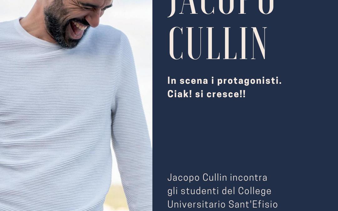 RIMANDATO. In scena i protagonisti. Jacopo Cullin